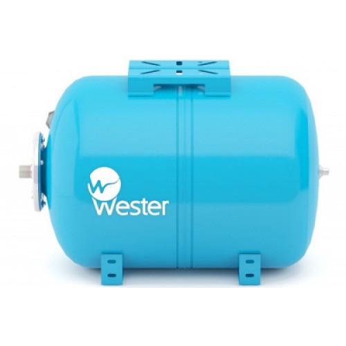 Гидроаккумулятор Wester WAO 24 л горизонтальная установка