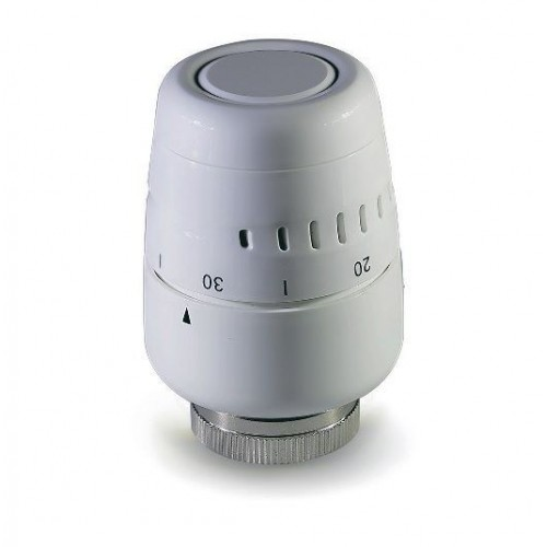 Термоголовка TIM белая пластиковая , TH-D-0401
