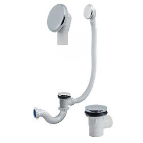 Автомат ванна 1*1/2х40 кругл. с перел ОРИО А-2108