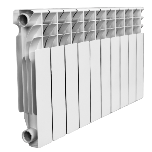 Биметаллический секционный радиатор отопления SIEGERN 500/80/12