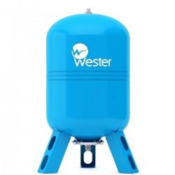 Гидроаккумулятор Wester WAV 100 л вертикальная установка