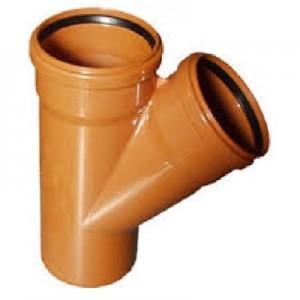ПВХ Тройник для наружной канализации