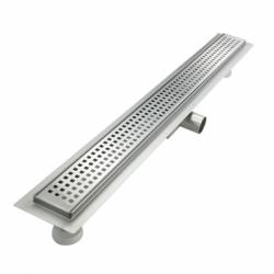 Трап-лоток с горизонтальным выпуском решетка с квадратной ячейкой 850 мм TIM BAD428502