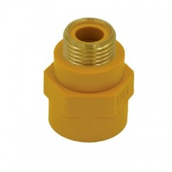 Ниппель диэлектрический внутренняя/наружная резьба 1/2 для газовой подводки BSFM022