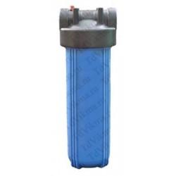 """Колба фильтр для тонкой очистки Big Blue 20 АкваВик  (Подключение латунь 1"""")"""