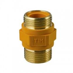Ниппель диэлектрический наружная резьба 1/2 для газовой подводки tim BSM022