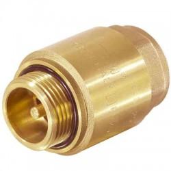 """Обратный клапан с металлическим штоком 1"""" вн /нр. TIM"""