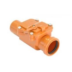 Канализационный ПП обратный клапан 160мм