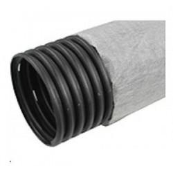 Труба дренажная, гофрированная с фильтром диам 160 (бухта 50м)